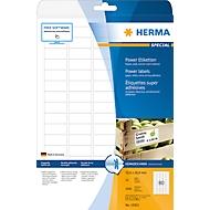 Herma Power-Etiketten Nr. 10901 auf DIN A4-Blättern, 2000 Etiketten, 25 Bogen