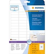 Herma Sichtreiter-Etiketten Nr. 4201 auf A4-Blättern, 1600 Etiketten, 25 Bogen