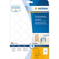 Herma Verschluss-Etiketten Nr. 4236 auf DIN A4-Blättern, 600 Etiketten, 25 Bogen