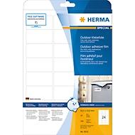 Herma wetterfeste Etiketten Nr. 9532 aus Polyesterfolie, 240 Etiketten, 10 Bogen