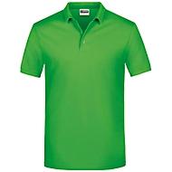 Herren-Poloshirt, Hellgrün, XXL, Auswahl Werbeanbringung optional