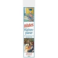Hildes Küchenplaner, 13 Seiten, B 110 x H 480 mm, Werbedruck 100 x 100 mm, Auswahl Werbeanbringung erforderlich