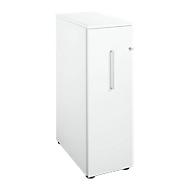 Hochcontainer, B 435 x T 800 x H 1296 mm, weiß/weiß
