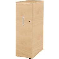 Hochcontainer Tetris Wood, 3 Schübe + 1 Utensilienauszug, B 424 x T 803 x H 1296 mm, ahorn