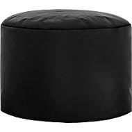 Hocker DotCom scuba®, für Sitzsack Swing, abwaschbar, Innenseite PVC-beschichtet, schwarz
