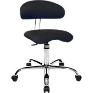 Hocker Sitness 40, 3-dimensional beweglich, schwarz