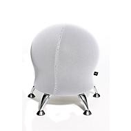 Hocker Sitness 5, mit integriertem Gymnastikball, belastbar bis 110 kg, weiß