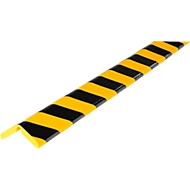 Hoekbeschermprofiel Knuffi®-Flex, 1 m/stuk, geel/zwart