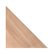 Hoekblad 90° TOPAS LINE, notenboom/zilver