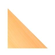 Hoekblad Clubwork, B 800 x D 800 x H 25 mm, beukenpatroon