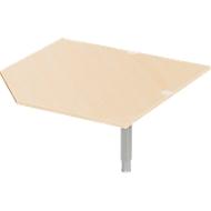 Hoekblad PLANOVA ERGOSTYLE, CAD, B 1200, esdoornpatroon