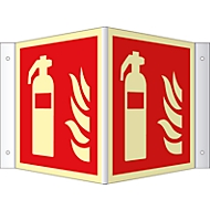 Hoekbord Brandblusser