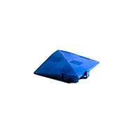 Hoekelement voor Clippy vloerrooster, blauw