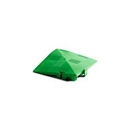 Hoekelement voor Clippy vloerrooster, groen