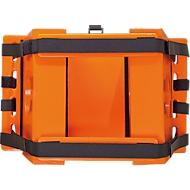 Hoofd-fixatieset voor spine-board, klittenbandsluitsysteem, antibacteriële uitrusting