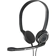 Hoofdtelefoon Sennheiser PC 8 USB, bedraad, stereo, USB 2.0, ruisonderdrukking, volumeregeling, zwart