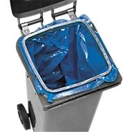 Houder voor vuilniszakken in 120 liter tonnen
