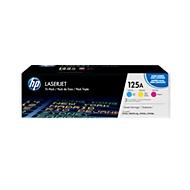 HP 125A Tripack LaserJet CF373AM Druckkassetten cyan/magenta/gelb