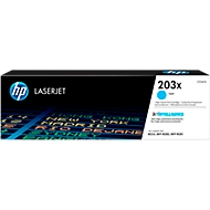 HP 203X Color LaserJet CF541X Toner cyan, original