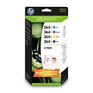 HP inktpatronen Nr. 364XL SET, zwart, cyaan, magenta, geel (N9J74AE)