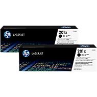 HP LaserJet 2 x HP 201X (CF400XD) Toner, schwarz, original