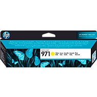 HP Tintenpatrone HP 971 CN624AE gelb, original