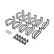 HPE for D-rings Rack - Kabelführungssatz