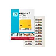 HPE Ultrium 3 WORM Bar Code Label Pack - Strichcodeetiketten