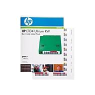 HPE Ultrium 4 RW Bar Code Label Pack - Strichcodeetiketten