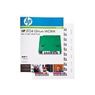 HPE Ultrium 4 WORM Bar Code Label Pack - Strichcodeetiketten