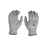 HPPE gebreide handschoen met snijbescherming Dondra, met PU microschuimcoating, 12 paar, maat XXL