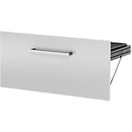 HR-Schubladen-Einsatz AXXETO, B 760 x H 380 mm, lichtgrau
