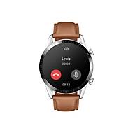 Huawei Watch GT 2 Classic - Edelstahl - intelligente Uhr mit Riemen - Pebble Brown