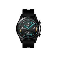 Huawei Watch GT 2 Sport - schwarzes Edelstahl - intelligente Uhr mit Riemen - mattschwarz