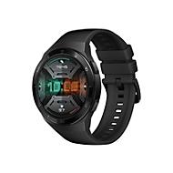 Huawei Watch GT 2e - schwarzes Edelstahl - intelligente Uhr mit Riemen - Graphitschwarz - 4 GB