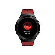 Huawei Watch GT 2e - schwarzes Edelstahl - intelligente Uhr mit Riemen - Lava Red - 4 GB