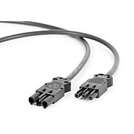 Hüdig+Rocholz Netzanschlusskabel System Flex, für Arbeitsplatzbeleuchtung, 3000 mm
