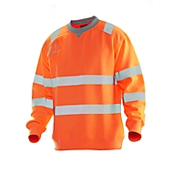 HV Sweatshirt orange 3XL