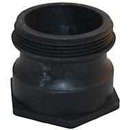 IBC-adapter YP0197, 2 inch fijn schroefdraad naar Camlock en fijn schroefdraad