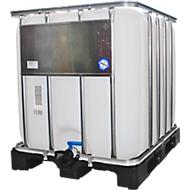 IBC Container auf Kunststoffpalette, 1000L
