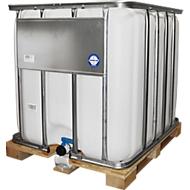 IBC tank, waterreservoir met houtenpallet, 1000 liter