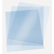ibiClear doorzichtige dekbladen, 200 micron, pak van 100 stuks
