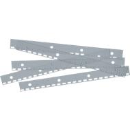 ibiStrip-aflegstrips, van PVC, A4, transparant