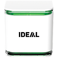 IDEAL AS10 Raumluftsensor, für Feinstaub, Temperatur, Luftfeuchtigkeit, Luftdruck, inkl. App, weiß