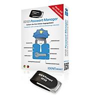 IdentSmart Passwort Manager ID50, bis zu 500 Passwörter, Microsoft/Android