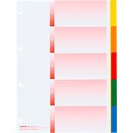 Index Kolmaflex A4, blanko, 5 Taben