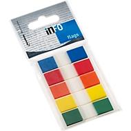 Index marque pages INFO, 12,5 x 43 mm, paquet de 5 x 36 feuillets, coloris assortis (livré sans distributeur)
