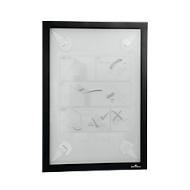 Inforahmen DURAFRAME® WALLPAPER, A4, Hoch- u. Querformat, inkl. Ersatzset, schwarz