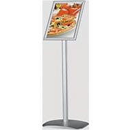 Infoständer Plakatständer DINA4, für Hoch- & Querformat, besonders standfest