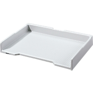 INKiESS® Ablagekorb BF 1, DIN A4, Kunststoff, lichtgrau
